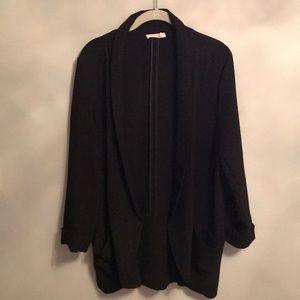 Lush blazer with 3/4 sleeve size large